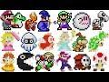 Super Mario Party - Puzzle Hustle - All 30 Figures