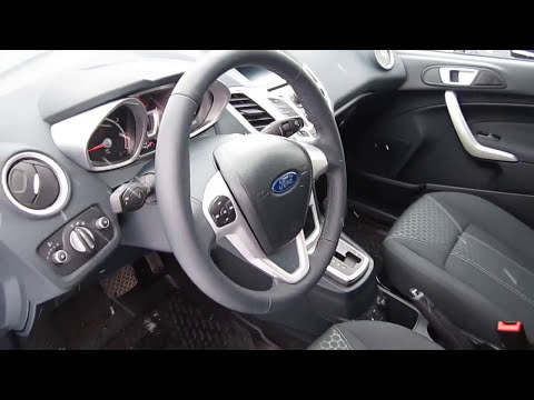 2012 Ford Fiesta. Start Up, Engine, and In Depth Tour.