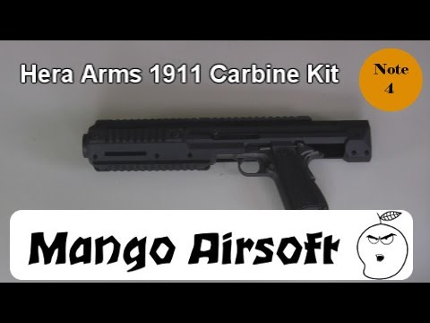 Carbine Conversion Kit For 1911 Hera Arms 1911 Carbine Kit