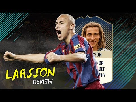 FIFA 18 - PRIME ICON LARSSON (90) PLAYER REVIEW