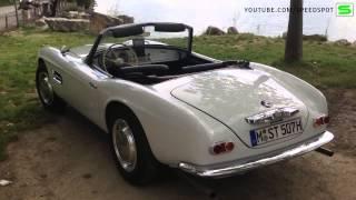BMW 507 + V8 sound
