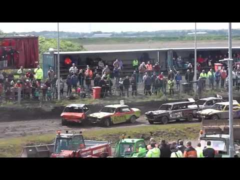 Emmen Battle of The Brands All Volvo and Granada Bangers 30th May 2015