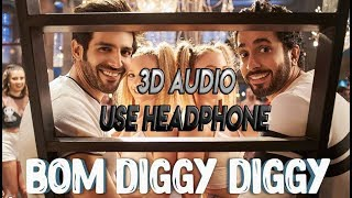 3D AUDIO  Bom Diggy Diggy  Bass Boosted  Zack Knig