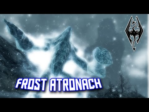 [Skyrim] How to Create a Frost Atronach Tome + Ingredients Locations