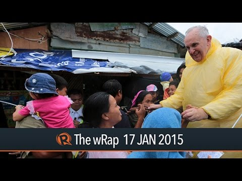 Pope in Leyte, typhoon Amang, selfie with Francis | The wRap