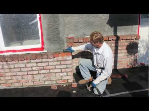 How to stucco over brick. and other plastering tips.