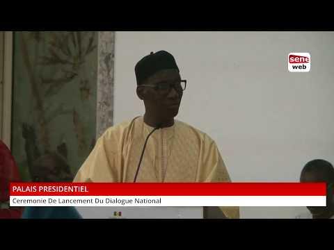 Disours de Mamadou Diop Decroix au Dialogue politique