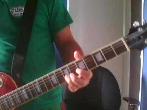 Rusted From The Rain - Billy Talent (guitar Solo Cover) video