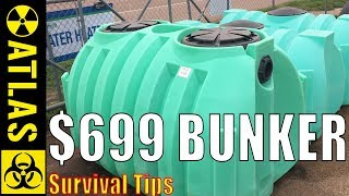 How To Create a Watertight Underground Bunker & Food Cache for $699