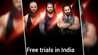 """Go for it  """" WWE  TRIALS""""   now in INDIA"""