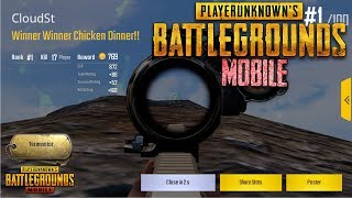 PUBG Mobile 🇩🇪17 Kills Chicken Dinner Let´s Play Playerunknown's Battlegrounds Mobile Deutsch