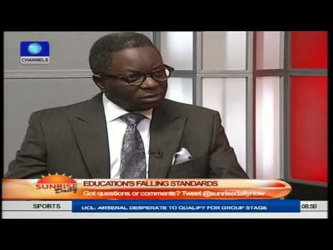 Sunrise Daily: Prof. James Makinde Speaks On Standard Of Education In Nigeria PT2