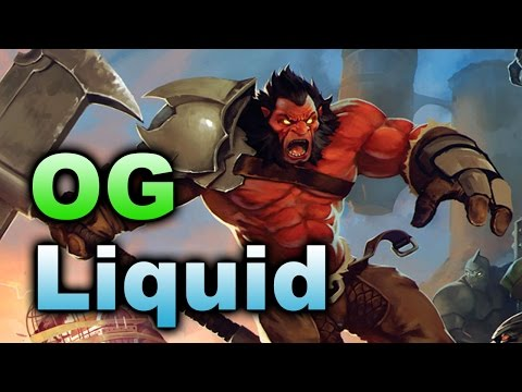 Liquid vs OG - Back and Forth So Beautiful - Summit 5 Dota 2