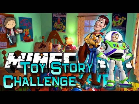 Minecraft: Toy Story Andy's Room Challenge! W bajan Canadian & Friends! video