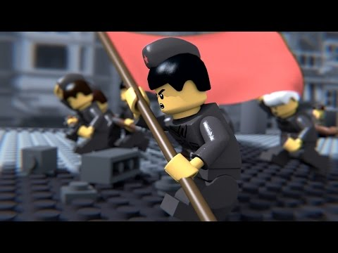 LEGO Battle of Red Square