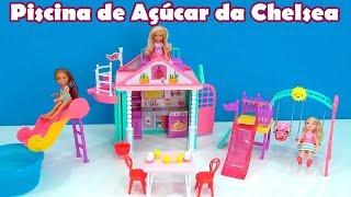 Piscina de Açúcar da Chelsea NOVO !! CASA PARQUE E PISCINA #TiaCris