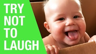 TRY NOT TO LAUGH CHALLENGE - FUNNY KIDS FAILS - COMPILATION 2018
