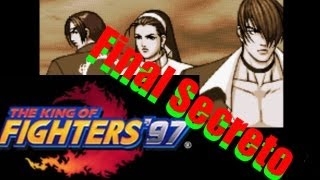 The King of Fighters 97 - Iori,Kyo e Chizuru - Final Secreto - Time Força Sagrada