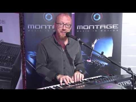 YAMAHA Montage Workstation Synthesizer Demo // MUSIC STORE Hausmesse