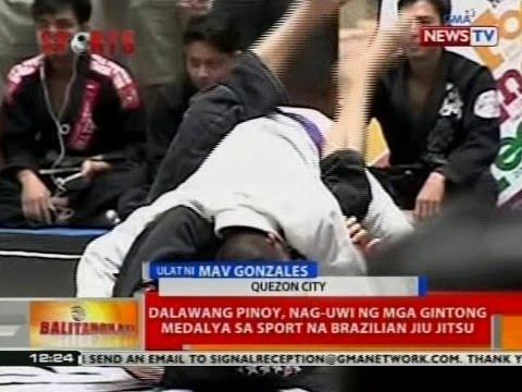 BT: Dalawang pinoy, nag-uwi ng mga gintong medalya sa sport na barzilian jiu jitsu