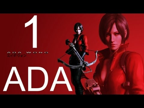 Resident Evil 6 walkthrough - part 1 HD ADA walkthrough gameplay RE6 Full ada walkthrough