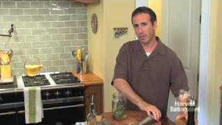 Video Recipe: Basil Vinaigrette
