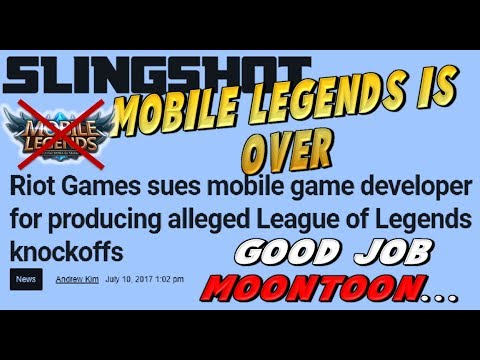 THE END OF MOBILE LEGENDS  !!! TRIBUNAL ACTION BY RIOT COMPANY (LEAGUE OF LEGENDS)
