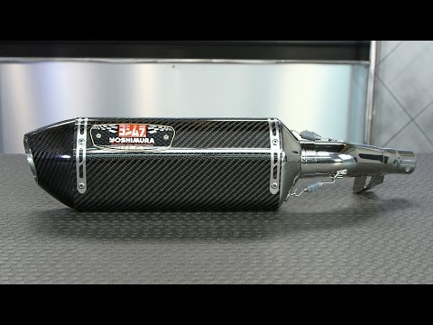 Yoshimura R-77 Slip-On Exhaust Install and Sound | Motorcycle Superstore