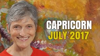 CAPRICORN JULY 2017 HOROSCOPE | Good News!