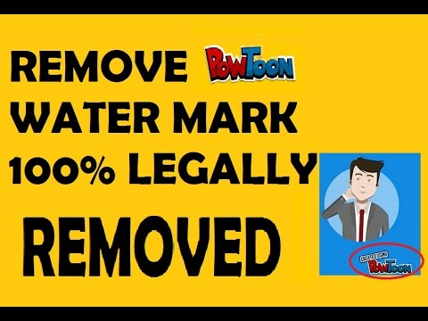 Remove Powtoon logo | How to remove Powtoon watermark easily - Hidden Secrets