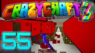 Minecraft Crazy Craft 3.0: THE RED ROOM #55 (Modded Roleplay)