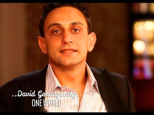 ONE WORLD: DAVID GORODYANSKY & DEEPAK CHOPRA
