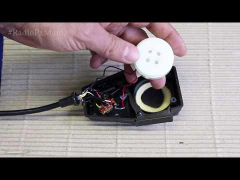 Capsula  do  Mike ( Ptt ) do radio Px  cobra 148 Gtl entenda  a qualidade.