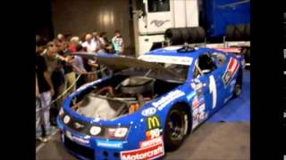 NASCAR Wheelen Euroseries Ford Mustang Autolix, Exhaust, Engine Sounds and Acelerations