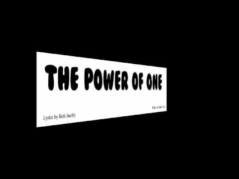 the power of one youtube