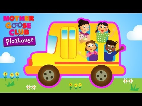 Wheels on the Bus - Back to School! - Mother Goose Club Playhouse Kids Video