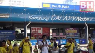 Bersih 4 kurang sambutan