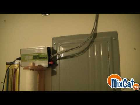 Solar Panels installed to the Gride Tie Inverter saving me electric! -update