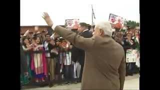 PM Narendra Modi arrives in Washington DC