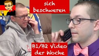 Complaining - Learn Intermediate German for B1/B2 #4 - Deutsch lernen