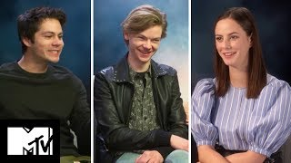 Maze Runner: The Death Cure Cast Reveal FUNNIEST Moments | MTV Movies
