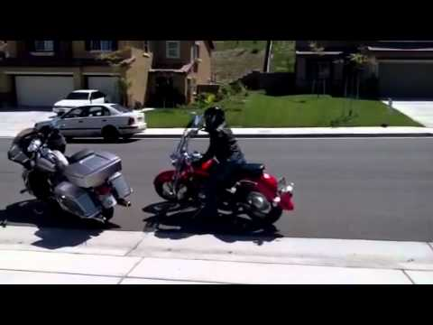Black Girl riding motorcycle