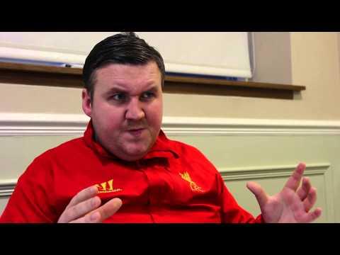 Brendan meets Rafa (Darren Farley)