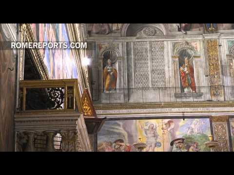 La Capilla Sixtina inaugura iluminación y se ve más impresionante que nunca