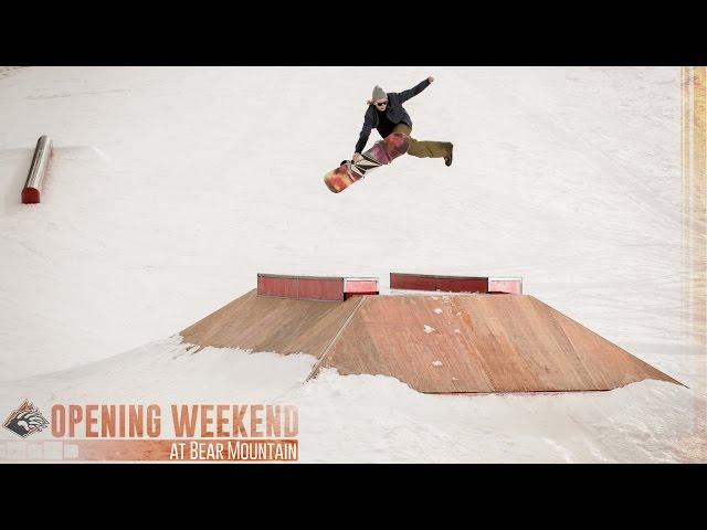 Bear Mountain Opening Weekend