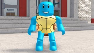 HOW TO BE SQUIRTLE FROM POKEMON IN ROBLOXIAN HIGHSCHOOL!!