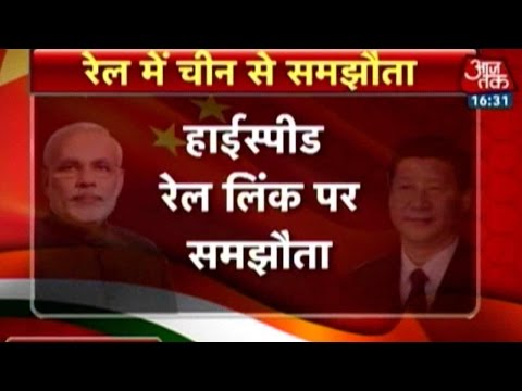 Hello China: India-China Agree On Deal For High-Speed Trains