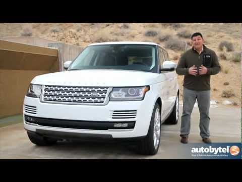 2013 Land Rover Range Rover Test Drive & Luxury SUV Video Review