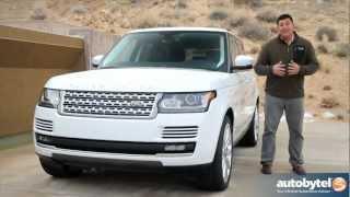 Land Rover Range Rover 2013 test sürüşü ve inceleme