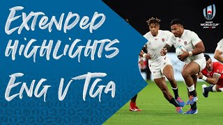 Extended Highlights: England v Tonga - Rugby World Cup 2019